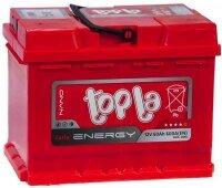 Аккумулятор автомобильный Topla Energy 60 А/ч 600 А прям. пол. 108160 Росс. авто (242x175x190)