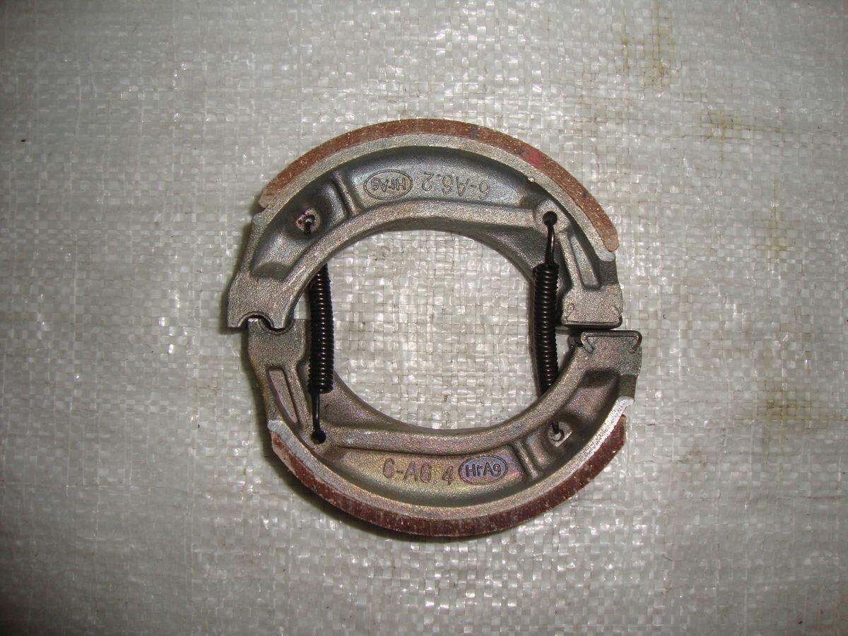 Колодки тормозные задние барабанного тормоза КТ50 SIGMA SPORT (WM)