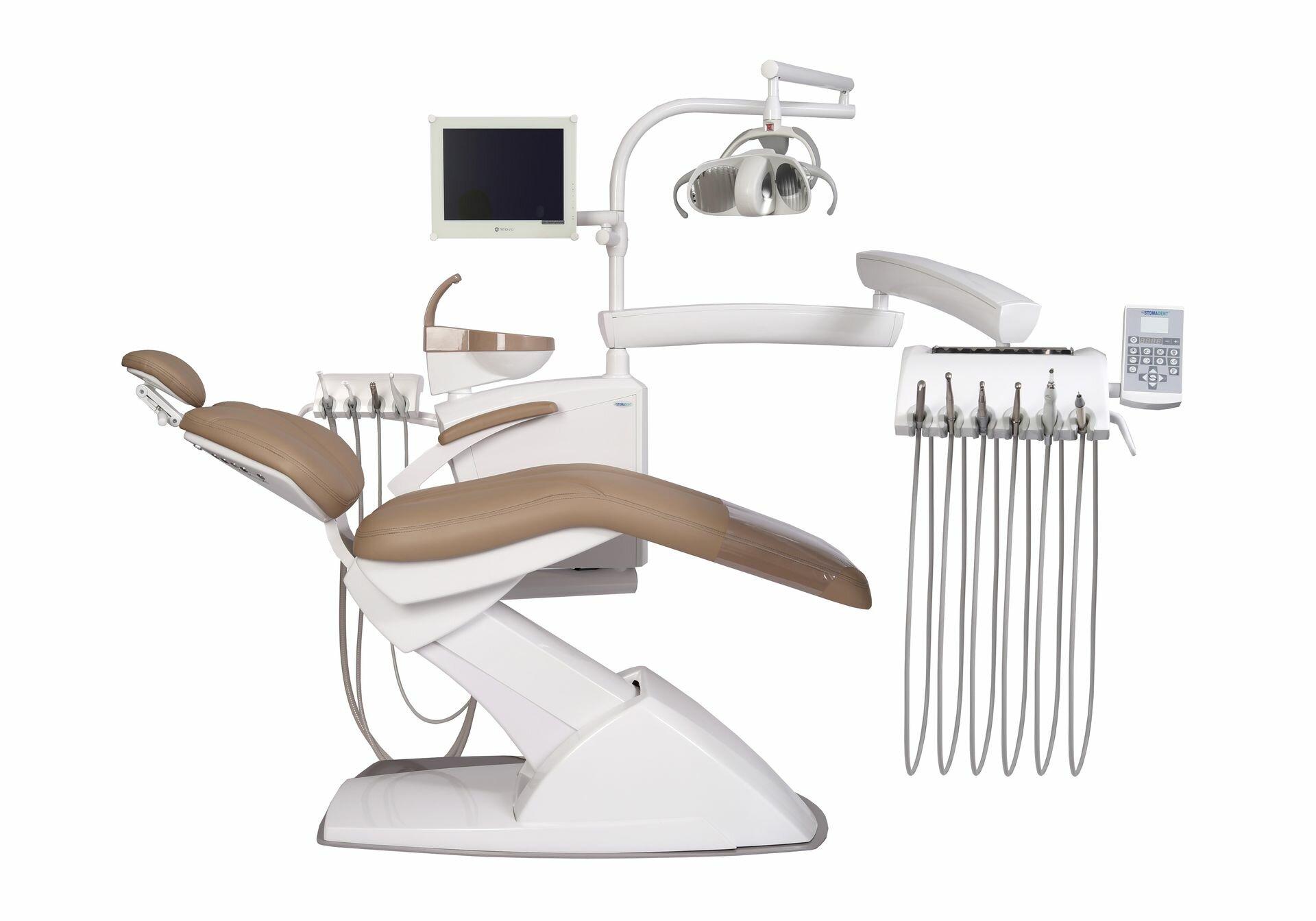 STOMADENT IMPULS NEO2 - стоматологическая установка с нижней подачей инструментов