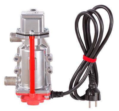 Подогреватель двигателя Северс+ Премиум с помпой 3 кВт выходы 20 мм.