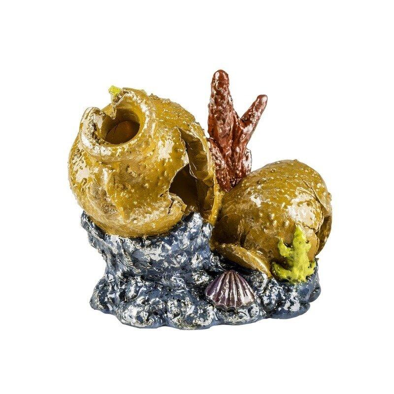 Glofish декорация для аквариума разбитая ваза