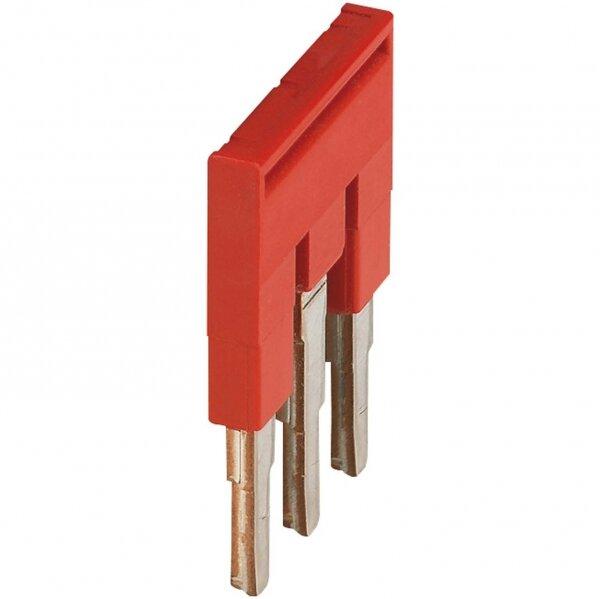 Клеммные соединения Перемычка для клеммников сечением провода 4мм2, 3 полюсная Schneider Electric