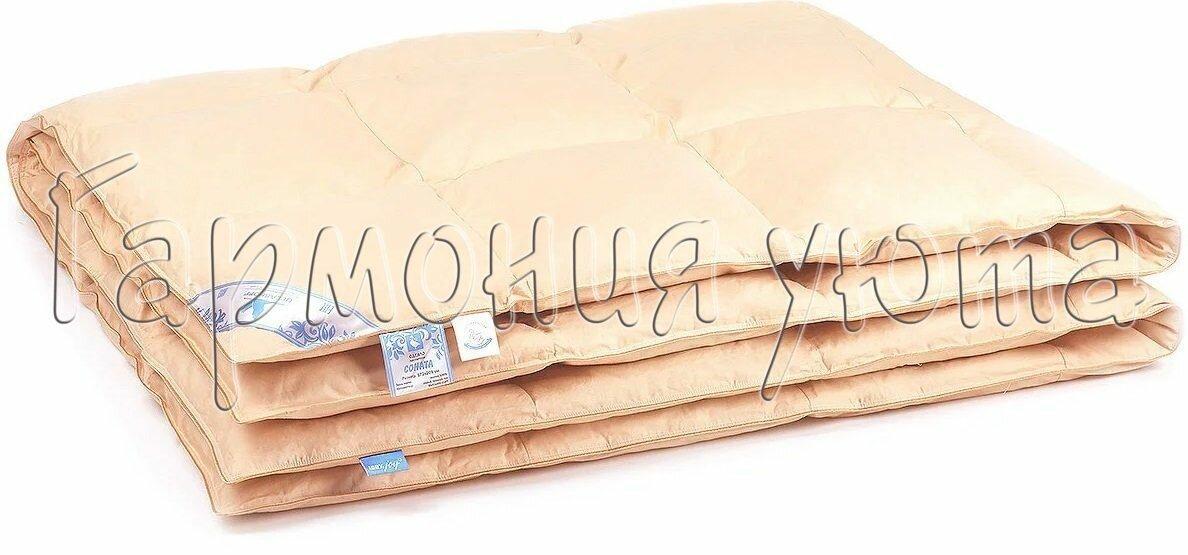 Одеяло пуховое кассетное Соната 200*220 Вelashoff