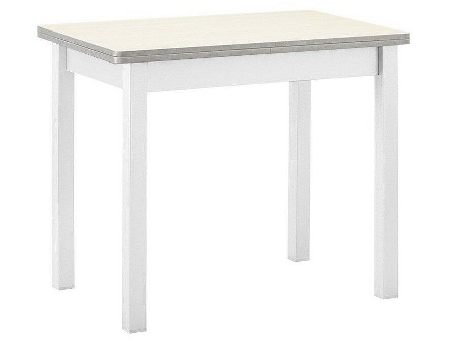 Кухонный стол Боровичи Стол обеденный раскладной прямая ножка Светлое дерево