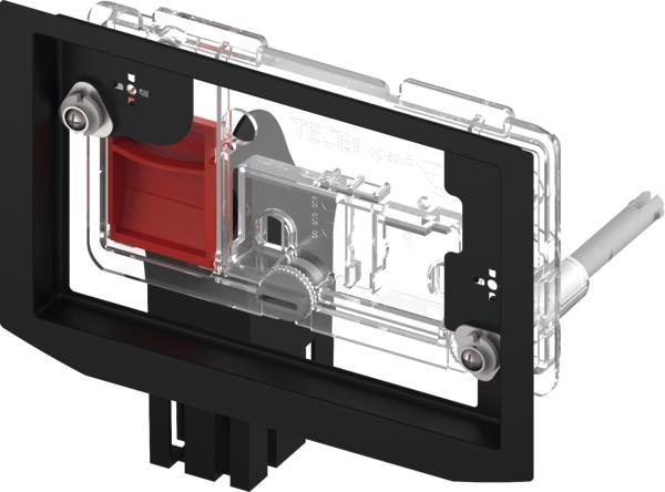 Дополнительные комплектующие для инсталляций TECE Контейнер для гигиенических таблеток, материал металл / пластик, цвет панели