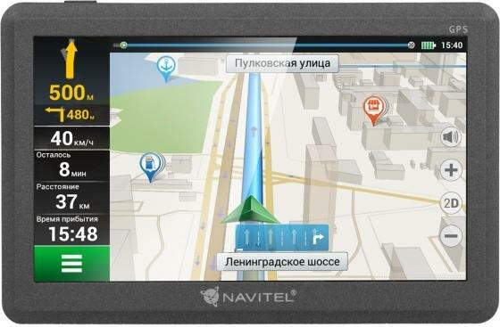 """Навигатор Navitel C500 5"""" 480x272 4GB microSDHC черный"""