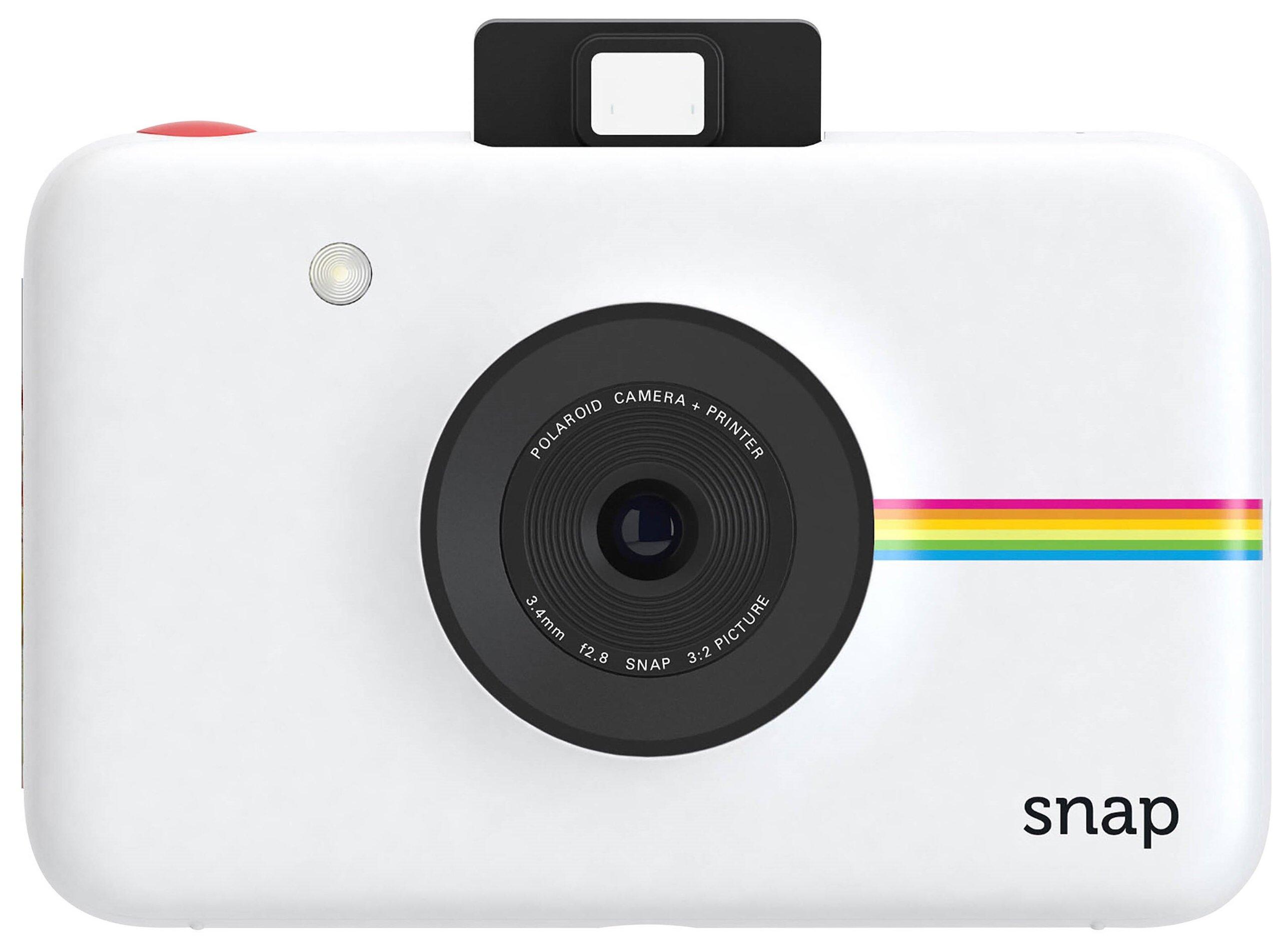 Фотоаппарат мгновенной печати Polaroid Snap POLSP01WE