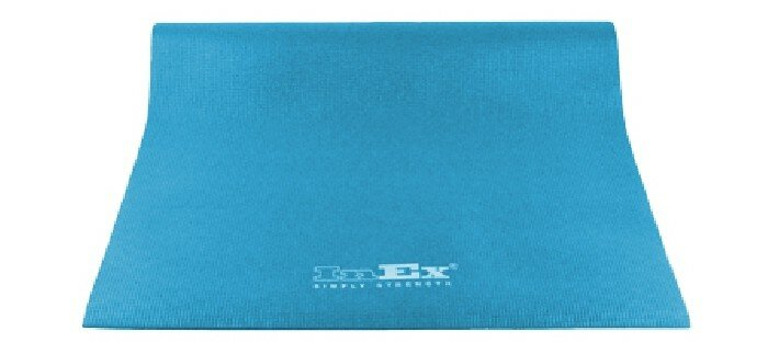 Inex Коврик для йоги 170х60х0.6 см Голубой