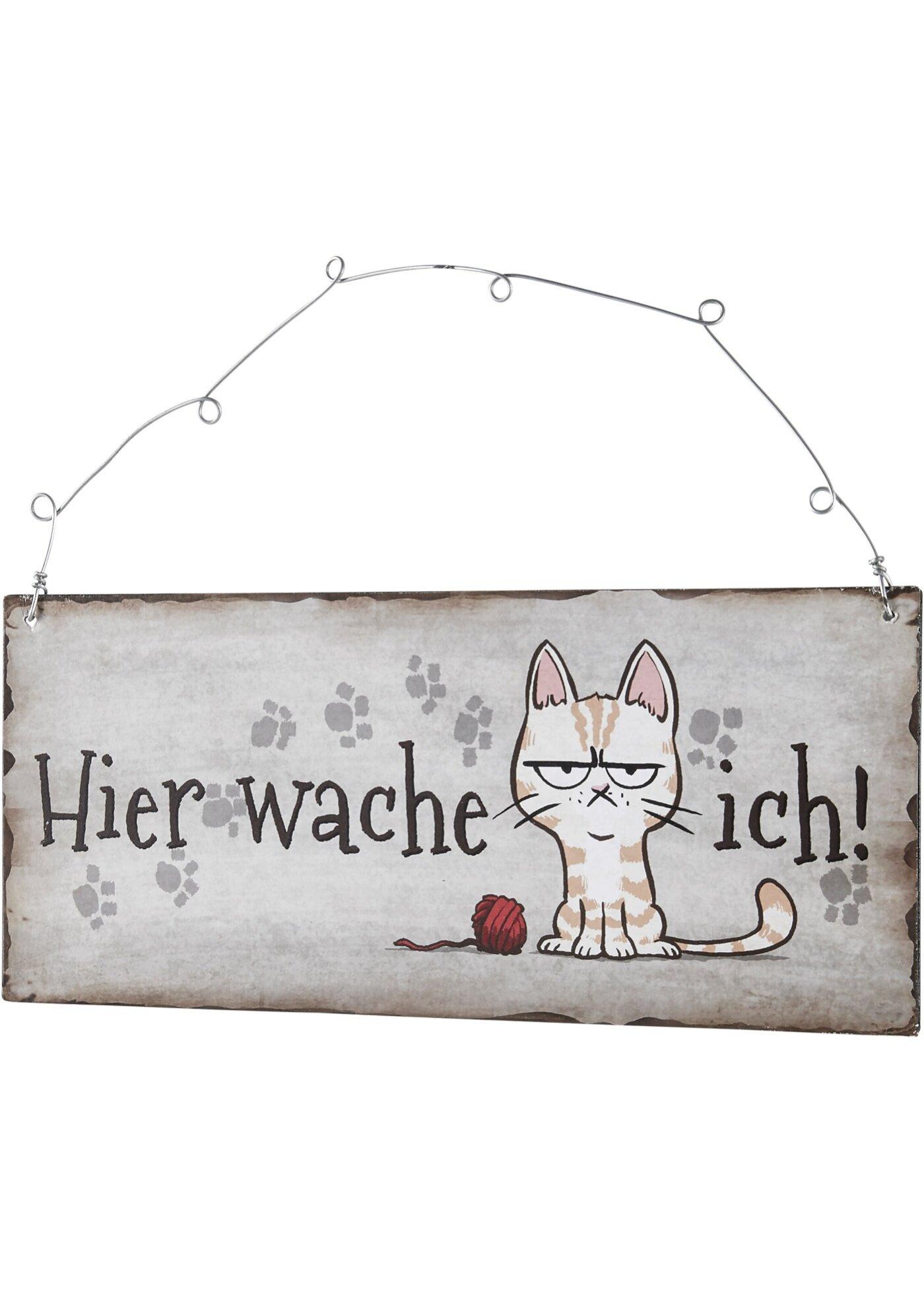 bonprix Надверная табличка Кошечка