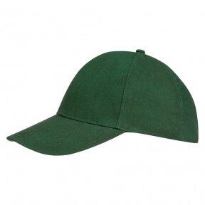 Sols Бейсболка Buffalo, темно-зеленая