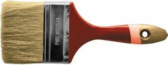 """Кисть флейцевая """"Классик"""" из натуральной щетины, 75 мм"""