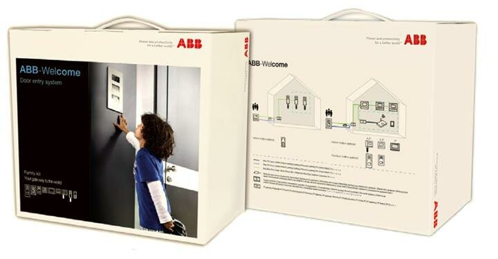 Домофоны/Видеодомофоны Комплект домофона со станцией вызова, мини, ау 4,3 классик ABB