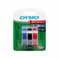 Принтеры чеков, этикеток, штрих-кода DYMO OMEGA 9ММ*3М черный/синий/красный