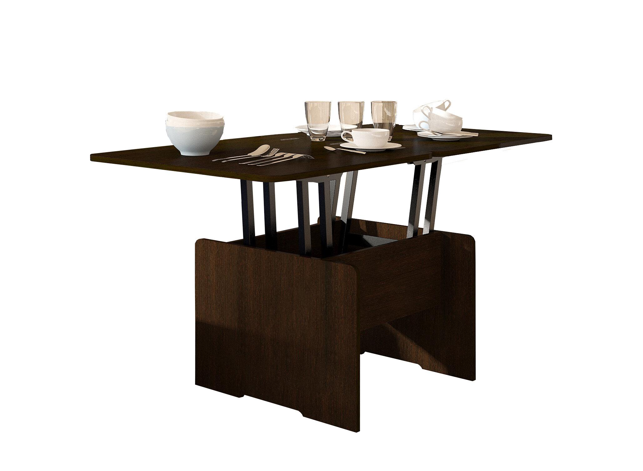 Кухонный стол Форвард-мебель Стол-трансформер Альтер Венге