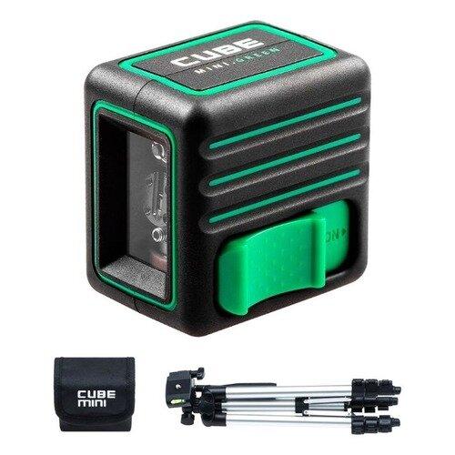 Лазерный нивелир ADA Cube MINI Green Professional Edition [a00529]