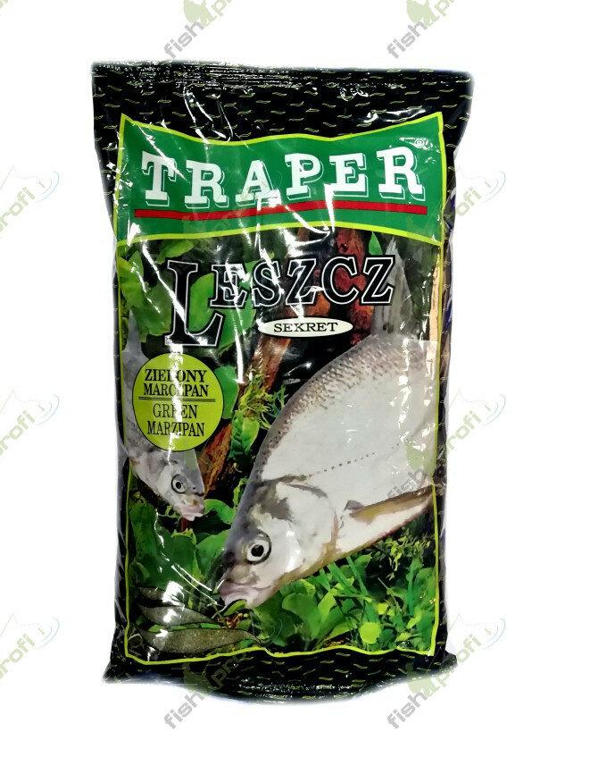 """Прикормка Traper """"Лещ зеленый Марципан"""", серия Secret 1кг — купить по выгодной цене на Яндекс.Маркете"""