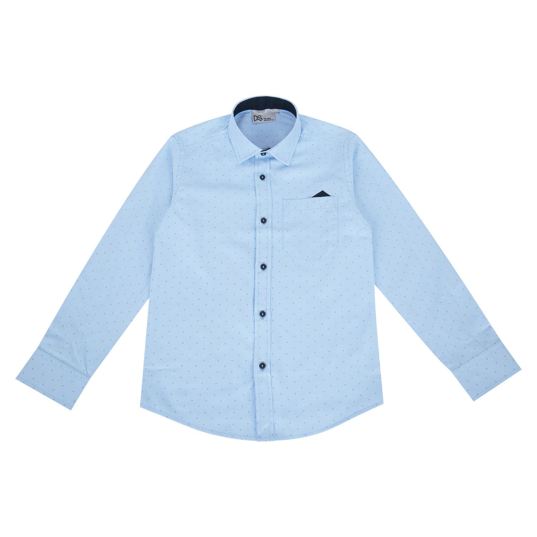 Блузка Deloras цвет: голубой, для девочек, размер 158