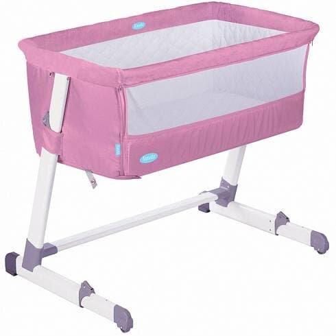 Детская приставная кроватка Nuovita Accanto (Latteria/Молочный)