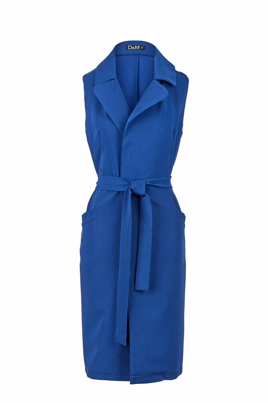 фото платье с удлиненной жилеткой сиденьем или небольшой