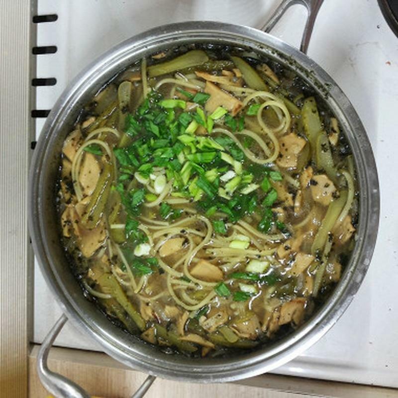 Суп-лапша с грибами 'Organic food'