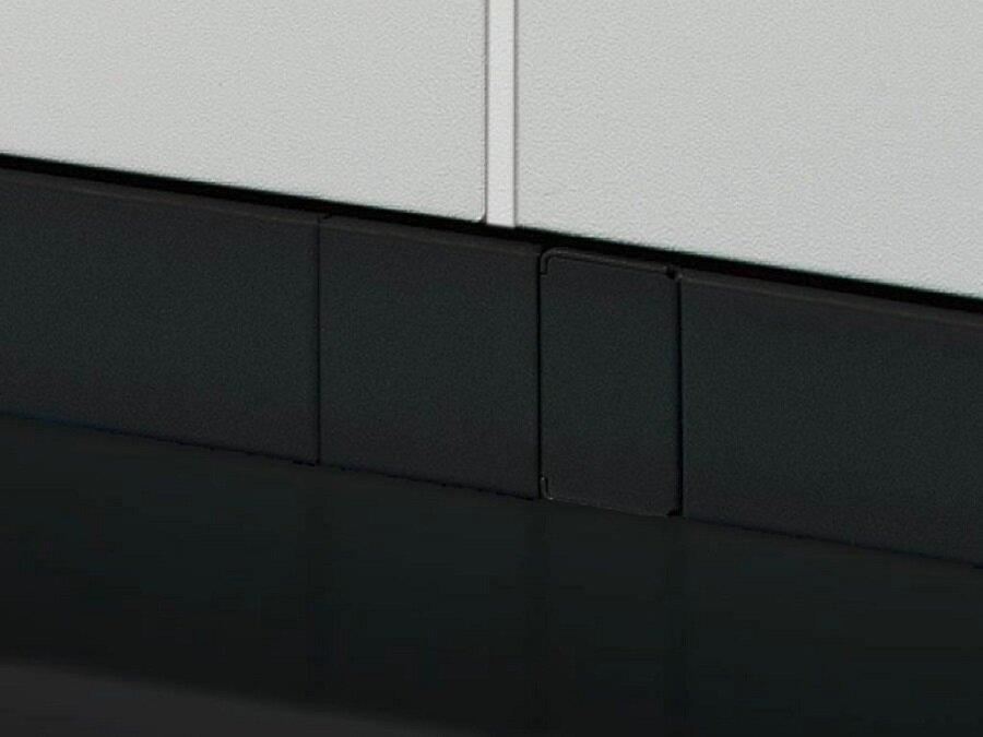 8800875 Заглушка Rittal VX25 неперфорированная вертикальная для шкафов RITTAL пластик 2 шт цвет: светло-серый