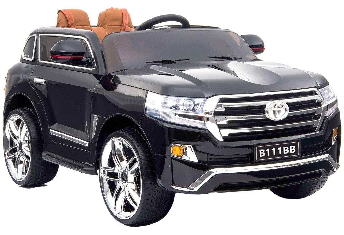 Электромобиль River Toys Toyota B111BB с дистанционным управлением - черный глянец