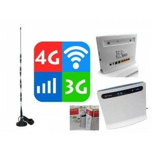 Усилитель 3G 4G LTE Комплект Huawei b593 kombo lite Интернет на дачу в дом квартиру офис