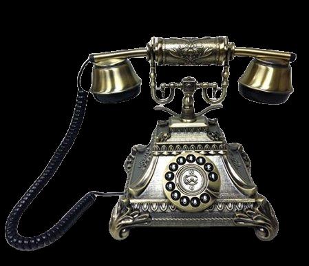 Телефон в стиле ретро