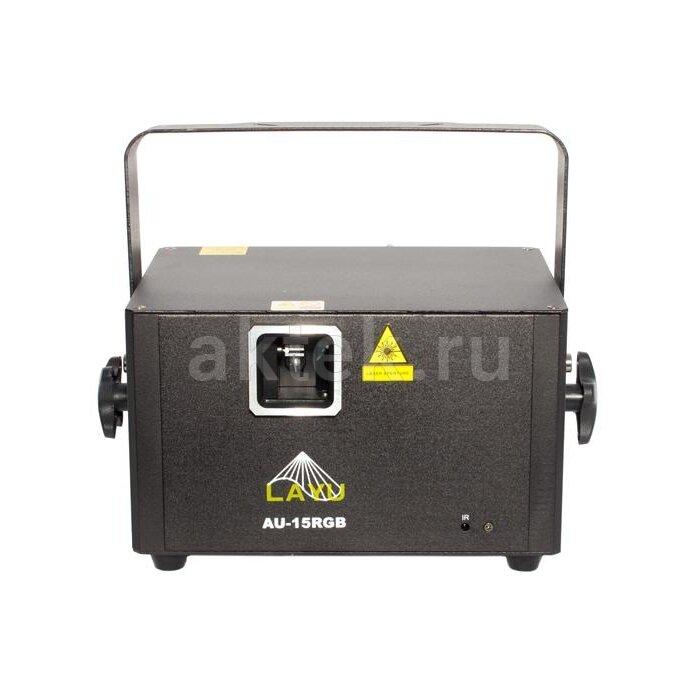 Лазерный проектор LAYU AU15RGB с SD картой