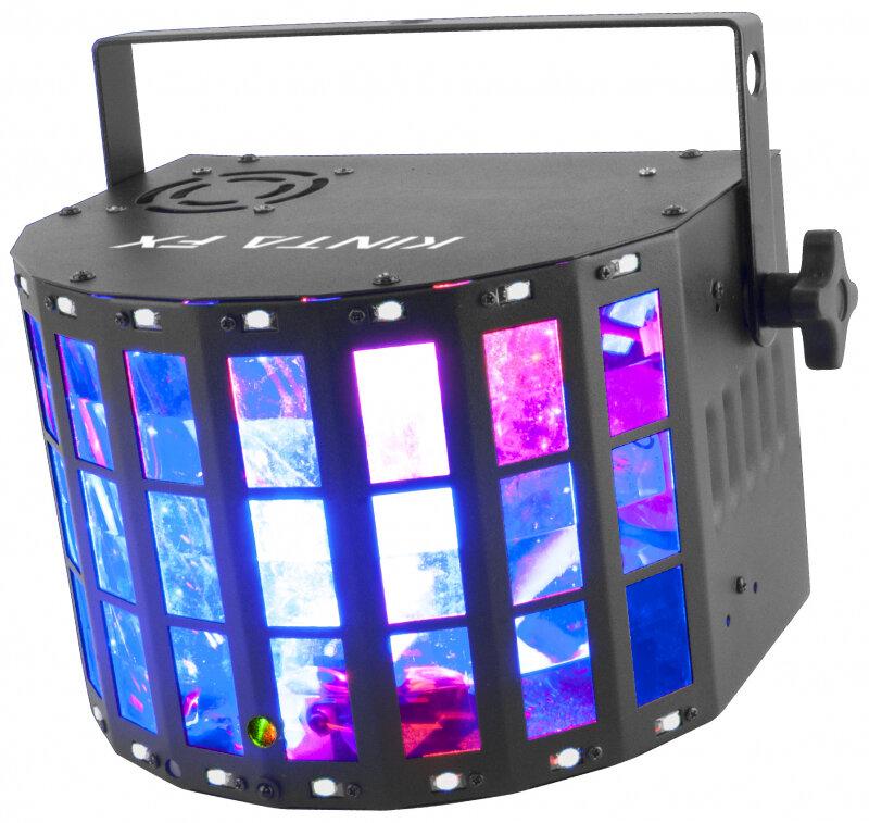 Световой прибор CHAUVET CHAUVET-DJ Kinta FX компактный эффект 3в1 - многолучевой эффект, лазерный эффект, стробоскоп.