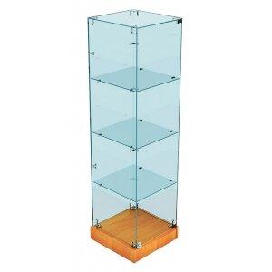 Стеклянная витрина Хит продаж 1 (закрытая, задняя стенка - стекло)