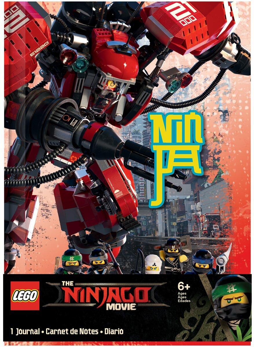 Блокнот 96 листов LEGO НиндзяГо