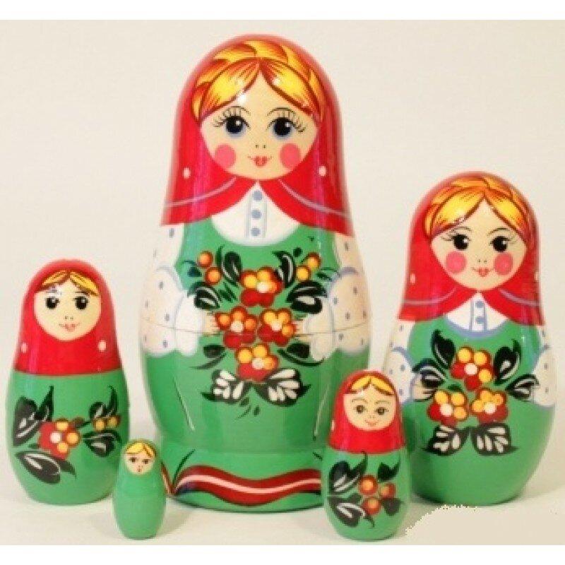 """Матрешка """"Незабудка"""" 5 мест"""