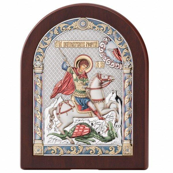 Икона Георгий Победоносец, Размер 12х16