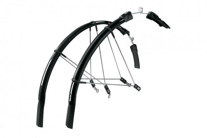 Крылья для велосипеда SKS Raceblade Long, комплект, для 28 дюймов / Черные