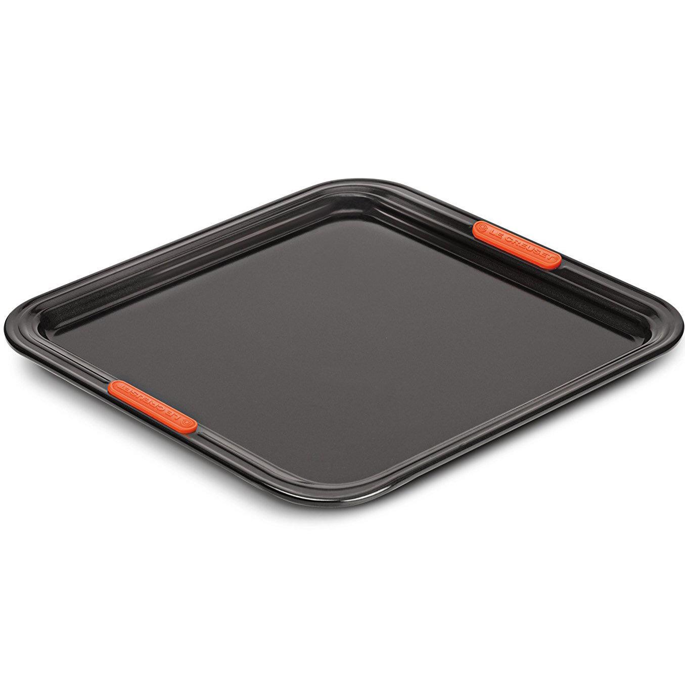 противни для запекания и выпечки Le Creuset Алюминиевый противень с антипригарным покрытием, 31 х 31 см, черный