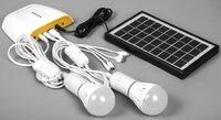 Портативная аккумуляторная солнечная панель / батарея, 3W, в комплекте с зарядным устройством, Feron PS0401