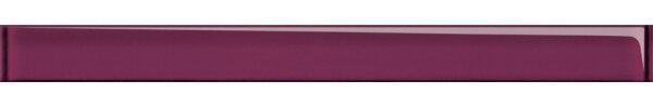 Стекло Cersanit Бордюр стеклянный Universal Glass пурпурный (UG1H221) 4x45