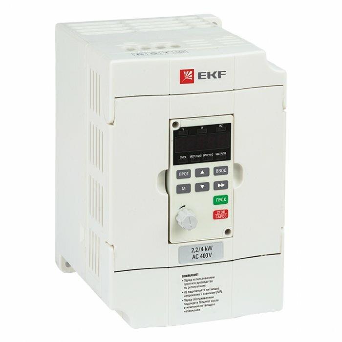 Преобразователь частоты 5,5/7,5 кВт 3х400В VECTOR-75 EKF Basic