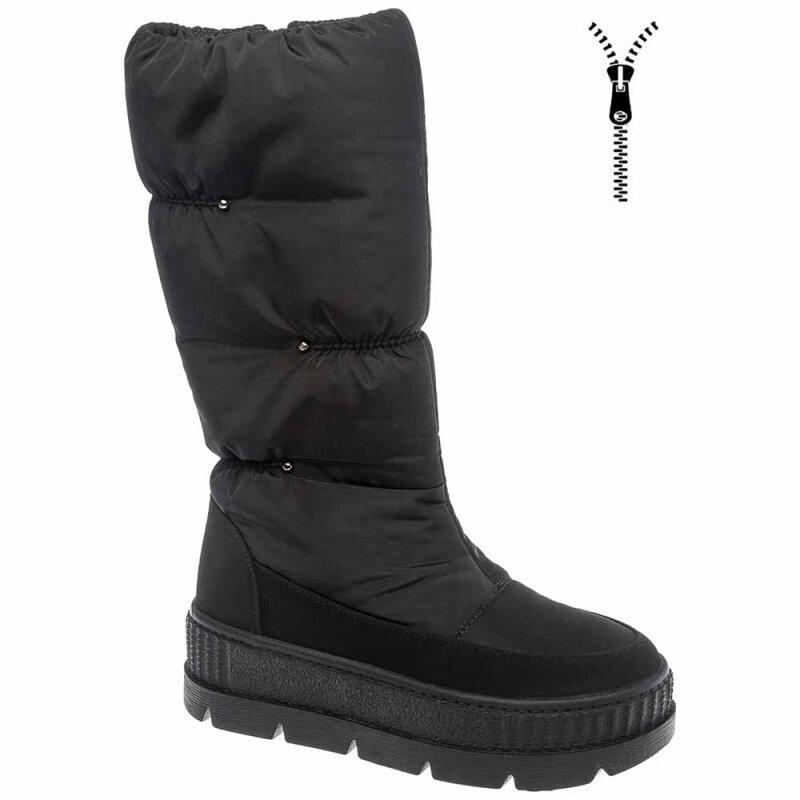 Сапоги BETSY 998344/06-01 для девочки, цвет черный, размер 36