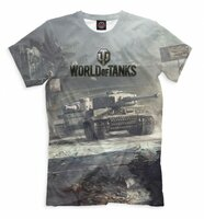 Футболка Print Bar World of Tanks (WOT-894795-fut-2-2XS)