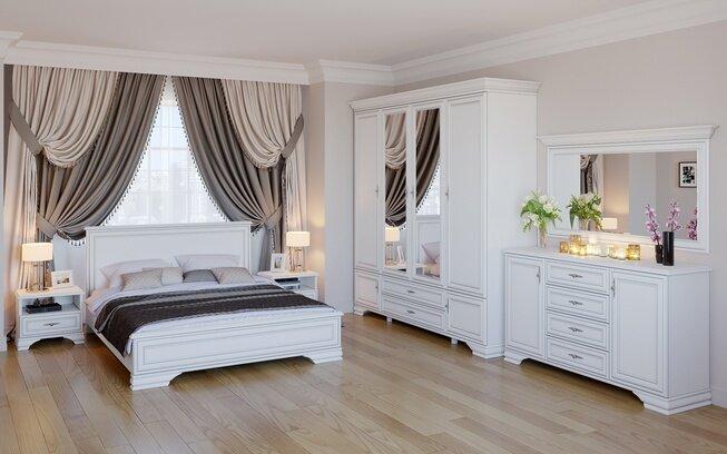 Комплект спальни Кентаки, белый