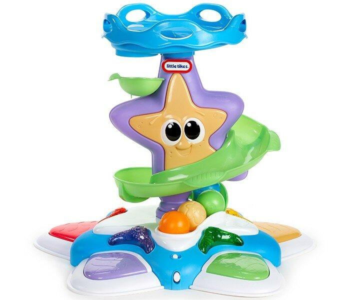 Развивающая игрушка Little Tikes Морская звезда с горкой-спиралью