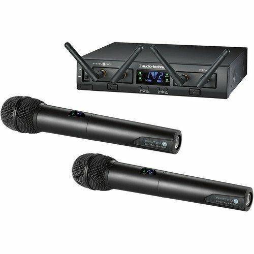 AUDIO-TECHNICA / ATW1322/радиосистема, 8 каналов 2.4 MHz с двумя ручными передатчиками