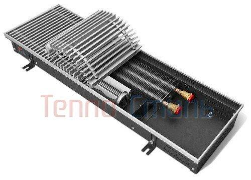 Внутрипольный конвектор Techno серия Vent KVZV 350/105/1100 с принудительной конвекци