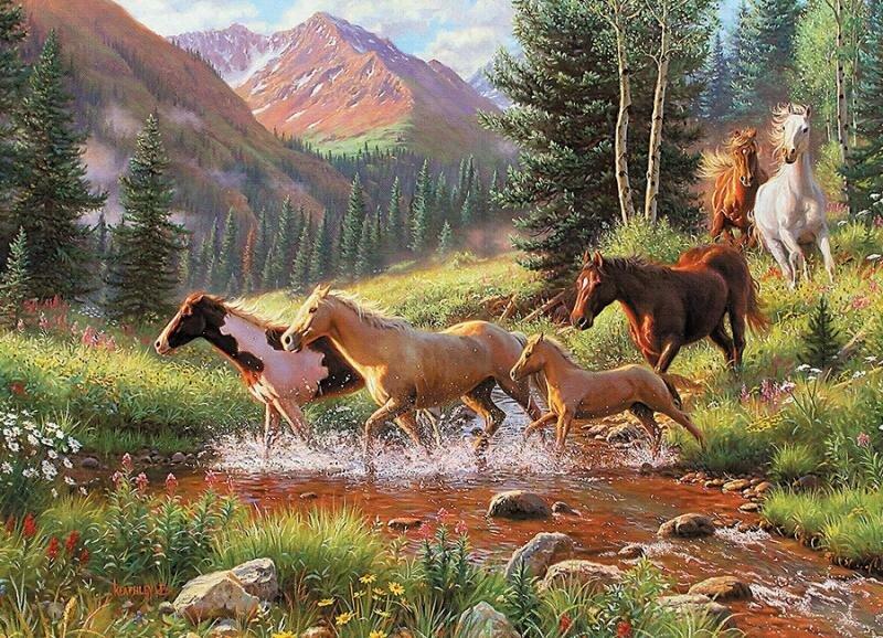 Картинки на тему природы с животными
