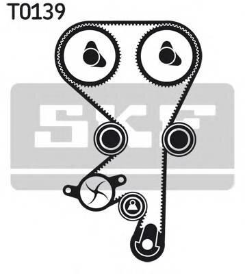 Комплект ремня грм opel astra 1.4/1.6 16v 94-01 Skf VKMA05150