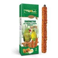 Корм для птиц Triol Standard, яйца, мед, злаки, семена
