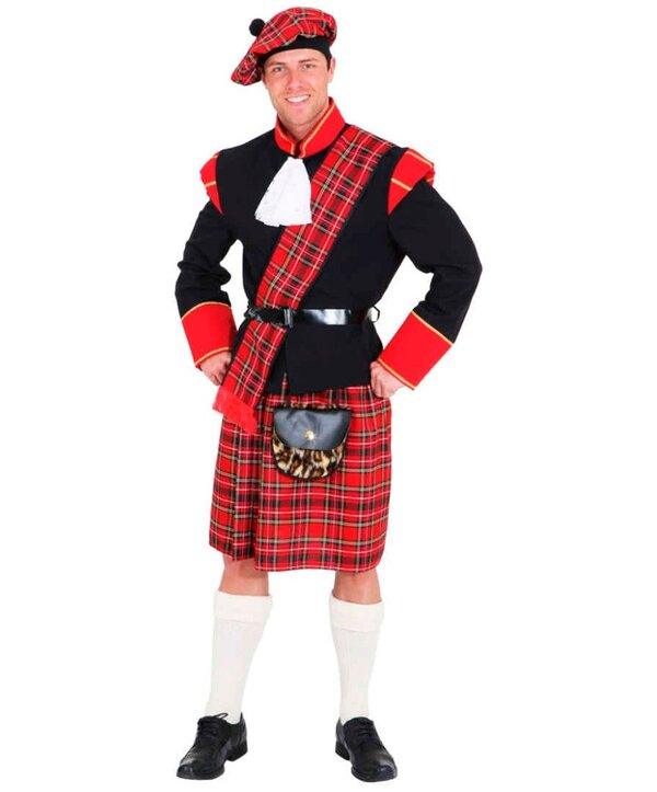 Одежда шотландцев фото
