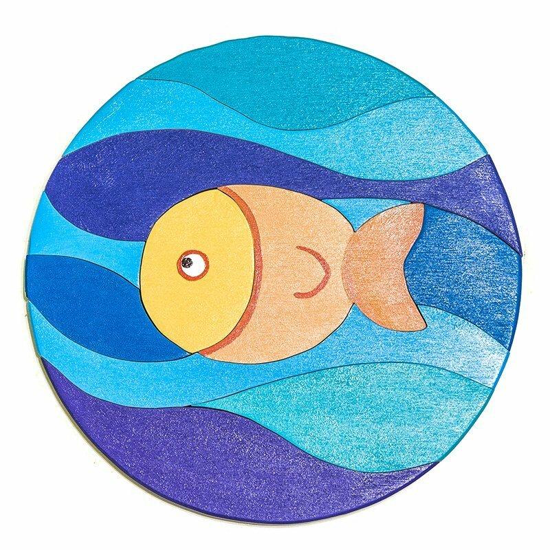 Пазл Забава Рыбка